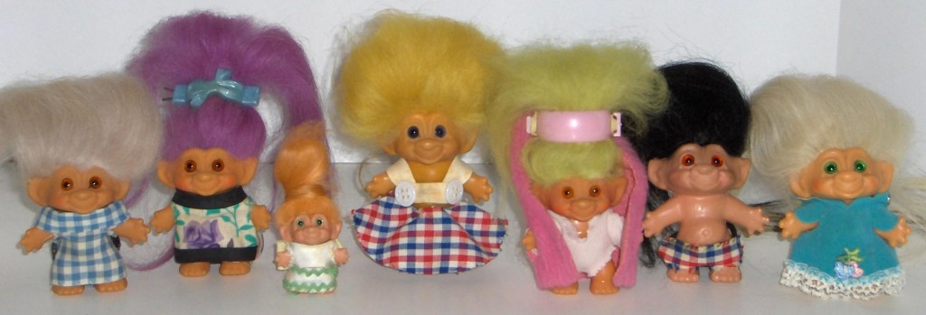My 60's Troll Collection